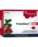 Alpinamed Preiselbeer Direkt, 60 Stück