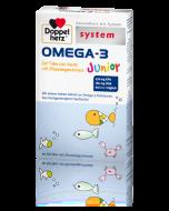 OMEGA                         -3 TABS JUNIOR                 DOPPELHERZ SYSTEM, 60 Stück