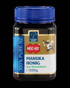 MANUKA HONIG                  MANUKA HEALTH               MGO                       400+, 500g