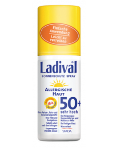 SONNENPRODUKTE                LADIVAL                     ALLERG/SPRAY              LSF 50+, 150ml