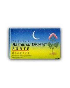 Baldrian Dispert Forte Dragees, 75 Stück