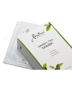 Princess Skincare Gesichtsmaske Green Tea, 8 Stück