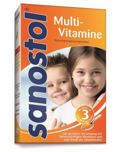 Sanostol Multivitamin Saft, 230ml