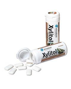 Miradent Xylitol Kaugummi - Zimt, 30 Stück