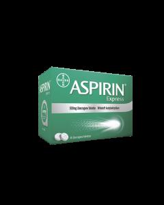 Aspirin Express - überzogene Tabletten 500mg, 20 Stück