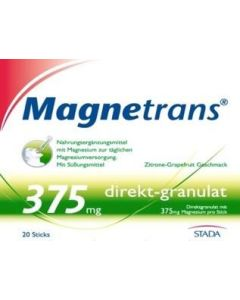 Magnetrans 375mg direkt-granulat 20 Sticks, 20 Stück