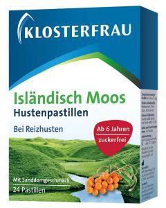 Klosterfrau Isländisches Moos Lutschtabletten, 24 Stück