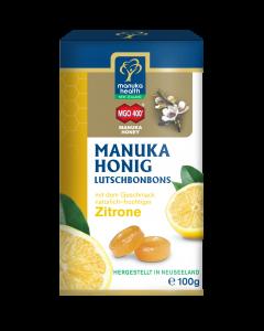 MANUKA HONIG                  MANUKA HEALTH               ZITRONE BONBONS, 100g