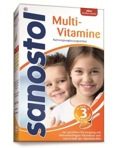 Sanostol Multi-Vitamine o.Z., 230ml