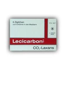 Lecicarbon Suppositorium, 120 Stück
