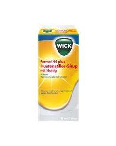 Wick Formel 44 Hustenstiller Sirup mit Honig, 120 ml