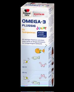 OMEGA                         -3 FLUESSIG JUNIOR             DOPPELHERZ SYSTEM, 250ml