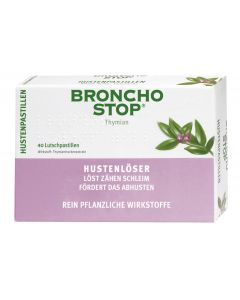 Bronchostop Hustenpastillen 40 Stück
