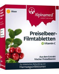 Alpinamed Preiselbeer Filmtabletten, 60 Stück