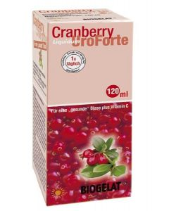 Biogelat Cranberry UroForte Liquid, 120ml