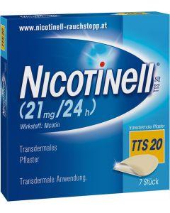 Nicotinell Depot Pflaster TTS 20, 7 Stück