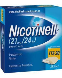 Nicotinell Depot Pflaster TTS 20, 28 Stück