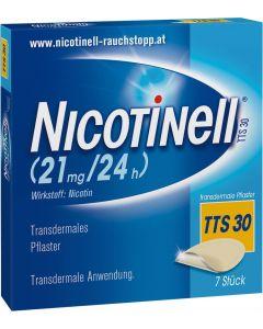 Nicotinell Depot Pflaster TTS 30, 7 Stück