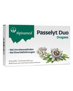 Alpinamed Passelyt Duo Dragees, 30 Stück