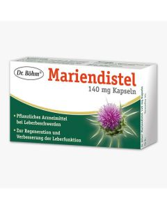 Dr. Böhm Mariendistel 140mg 30 Kapseln