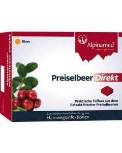 Alpinamed Preiselbeer Direkt, 30 Stück