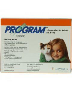 Program Suspension-Ampulle für Katzen 7%, 6 Stück