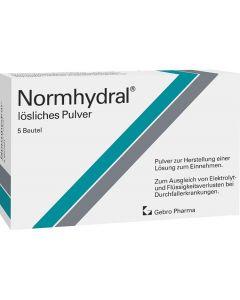 Normhydral lösliches Pulver 13,1g, 5 Stück