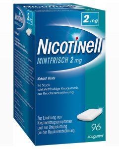 Nicotinell Kaugummi mintfrisch 2mg, 96 Stück