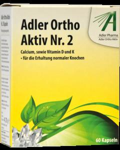 Adler Ortho Kapseln Nr.2, 60 Stück