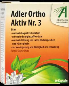 Adler Ortho Kapseln Nr.3, 60 Stück
