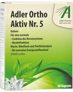 Adler Ortho Kapseln Nr.5, 60 Stück