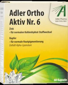Adler Ortho Kapseln Nr.6, 60 Stück