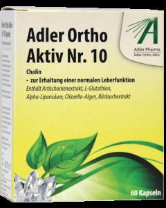 Adler Ortho Kapseln Nr.10, 60 Stück