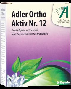 Adler Ortho Kapseln Nr.12, 60 Stück