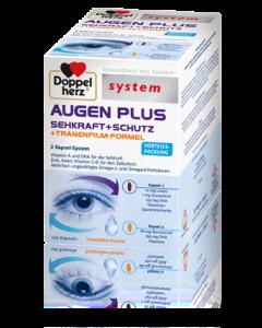 Doppelherz System Augen+Sehkraft+Schutz+Tränenfilm, 120 Stück
